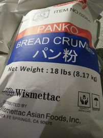 Low Calorie Japanese Breading Crumbs / Plain Panko Bread Crumbs 4-6mm Size