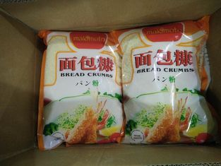 China Restaurants Toasted Cheese Bread Crumbs Low Carb With Sugar / Salt Additives supplier