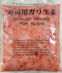 China Healthy And Safe Dried Ginger Root / Sliced Pickled Ginger For Japanese Sushi supplier