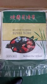 China Japanese Style Roasted Seaweed Nori Dried Nori Sushi Wrap Sheets factory