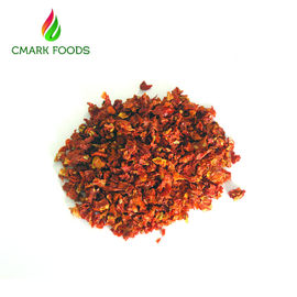 9x9mm Air Dried Tomatoes / Dried Cherry Tomatoes Environment  Friendly