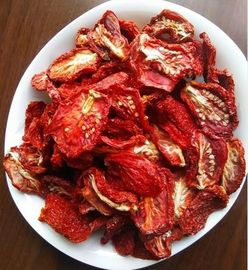 China Half Cutted Size Air Dried Tomatoes Dehydrated Vegetable Powder Red Color factory